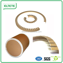 Round paper Edgeboard corner guard for Steel Rollers