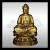 high quality decorative standing granite buddha statue