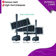 solar submersible water fountain pump