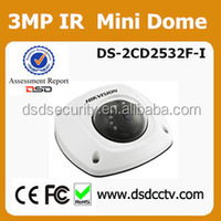 DS-2CD2532F-IS complete cctv system supported hikvision mini ir dome camera with alarm