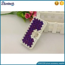 2017 new design hand made diamond luxury mobile phone case cover for samsung galaxy note 5 note 4 note 3