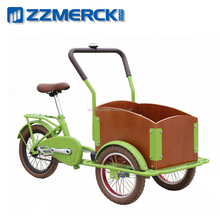 Old Fashion Front Load Children and Kids Cargo Tricycle