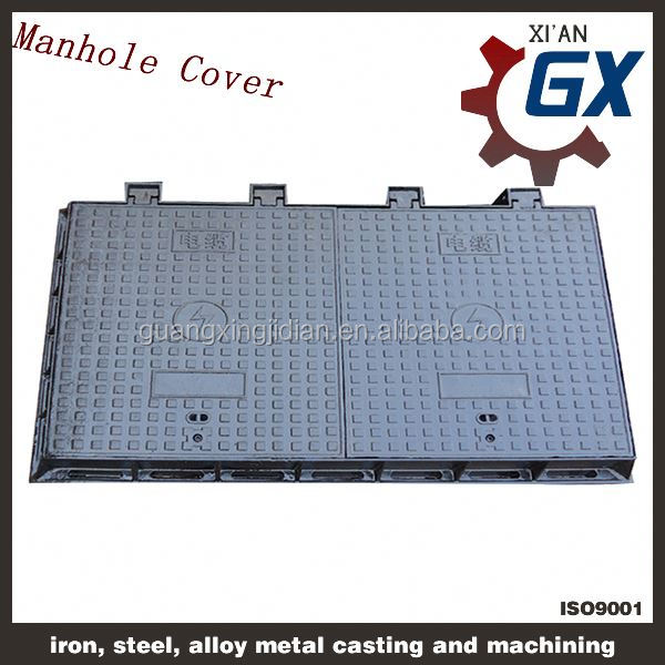 ductile grey iron stainless rainwater manhole cover