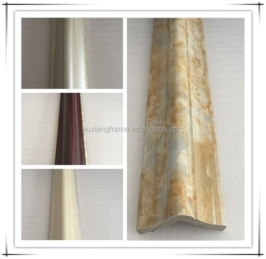 2016 ps marble decoration moulding for wall corner guard protection