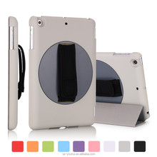 New Fashion Design rotating handle case for iPad mini2 3