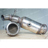 KET factory High flow direct fit Catalytic Converters for BMW