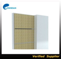 construction curtain wall insulation board wall partition board rock wool fiber board