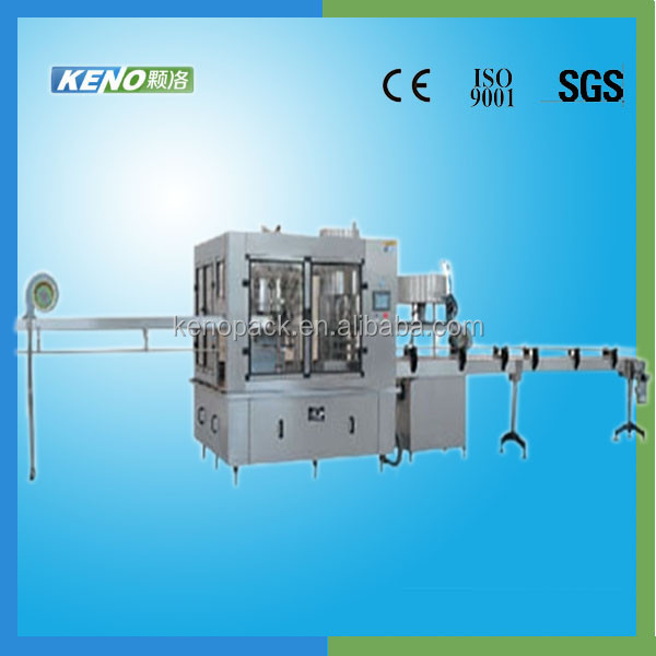 Suppliers china KENO-F202 complete line for juice filling in tin cans