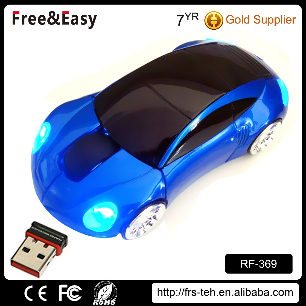 Novelty promotional wireless car shape mouse for giveaway
