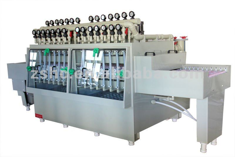 precise chemical etched metal cover making machine