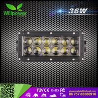 Brand new led bar light bar 36w for snowmobile with low price