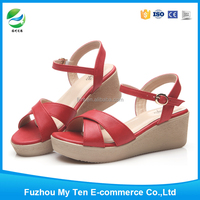 Sexy High Heel Wedged Sandals Shoes Women