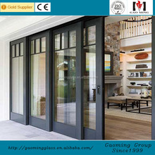 Daylighting function Cheap fire rated glass sliding closet doors with CE cetificate