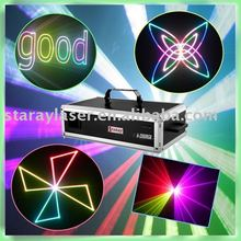 A-2000RGB 2w full color carton laser light,stage laser lighting