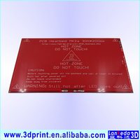 RepRap 3D Printer PCB Heatbed MK2B Heat Bed Hot Plate For Prusa & Mendel MK2A