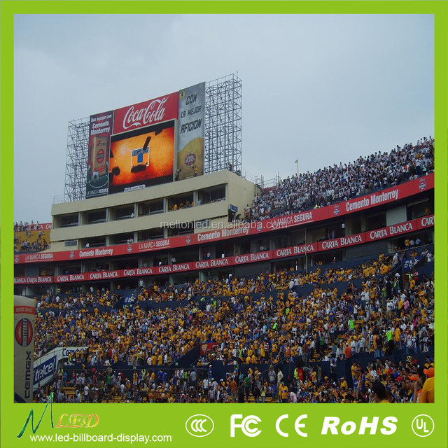 Standing perimeter advertising led display screen for football,basketball,soccer scoreboard,hockey ice sports