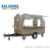 Outdoor Street Mobile fast food cart for sale design