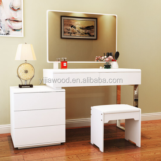 Modern simple dressing table multi-function bedroom combination storage cabinet