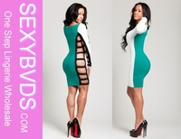 mix colors cut out bandage dress wholesale, plus size bandage dresses wholesale