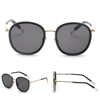 Promotional Round Frame Retro PC Sunglasses Men Women unisex Sunglasses big frame round fashion sunglasses