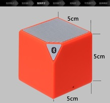 Water cube speaker mini audio call small squares smartphone subwoofer bluetooth speaker x3mini