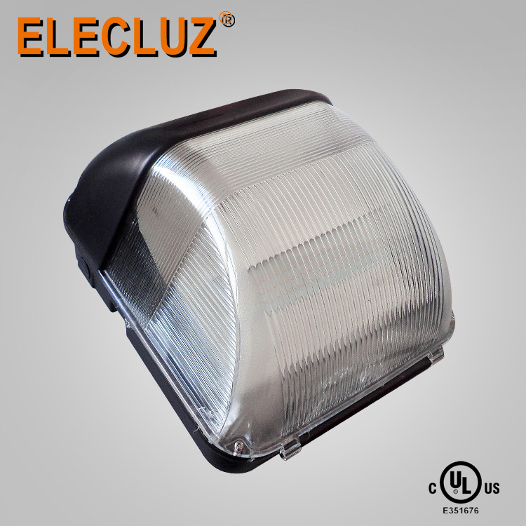 Plastic cover 40w outdoor wall led light 5 yrs warranty ip65 waterproof UL commercial wall sconce black outdoor