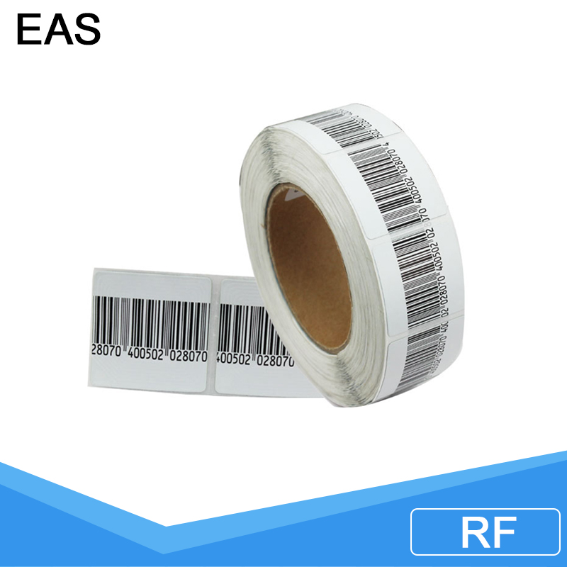 eas security sticker label , eas soft label used supermarket , eas barcode eas rf soft tag