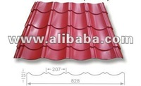 corrugated steel roofing Archaize tile
