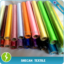 Deco fabric snow organza roll