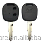 High quality 2 buttons car remote cover car for chery key chery car key