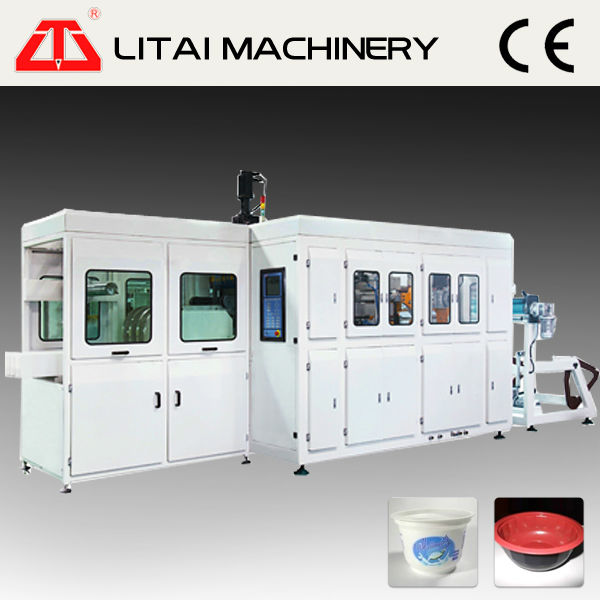 Automatic Plastic Glass Cup Producing Machine