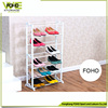 2016 popular high quality Metal material and white paint cheap shoe rack