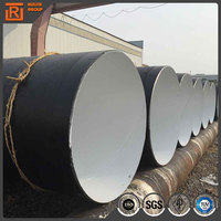 Anti corrosive drainage pipe china factory epoxy powder coating 3 layer pe casing pipe