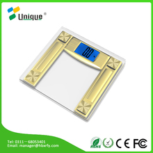 100kg 200kg antique gold spring cheap pocket personal tcs a electronic platform precision electronic glass body fat scale