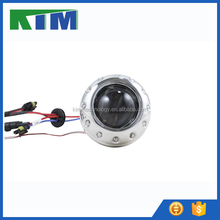 2.5 inch motorcycle hid bi-xenon projector lens with devil eyes