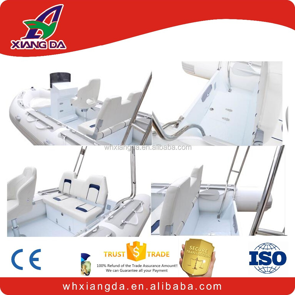 Luxury aluminum rib boat for sale