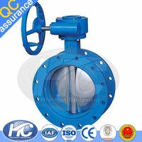 Hot selling intake butterfly valve / baf butterfly valves / flowline butterfly valves made in china