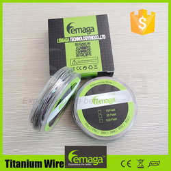 Grade 1 titanium wire vapes and atomizers Temp control wire Titanium Ta1