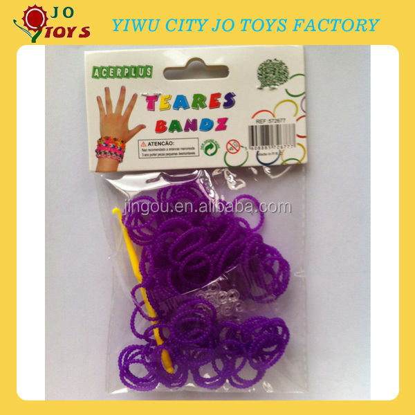 particle shape Fun Loom Bandz Kit ,DIY Rubber Loom,Loom Rubber Band