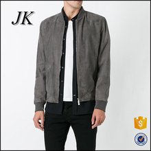 Wholesale Mens Suede Leather Winter Bomber Jacket