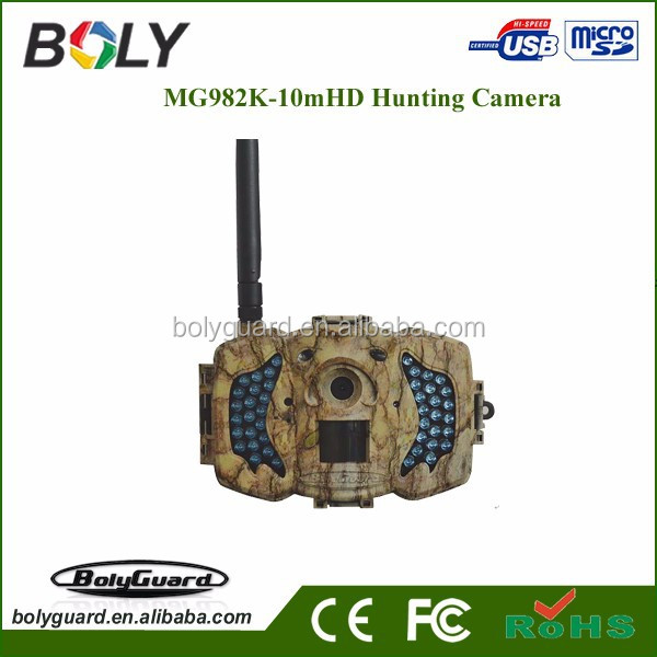 2015 hot sale new product MG982K-10M trail scouting game hunting camera for wild hunting