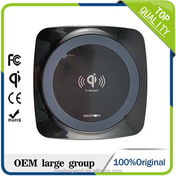 W22 2017 Wholesale OEM Wireless phone charger Qi for mobile phone