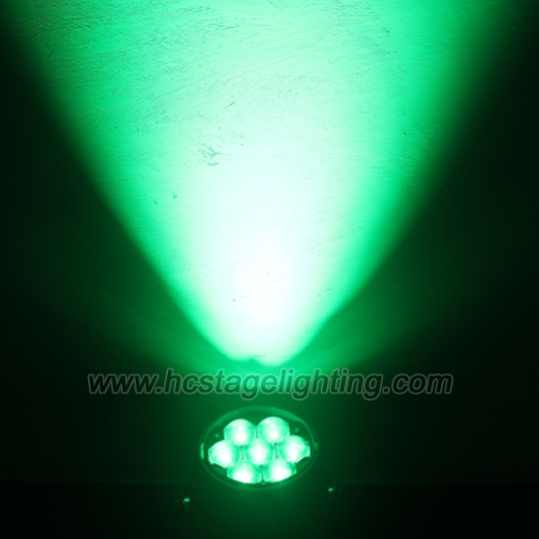 lights led disco 7*4in1 15w beam par led zoom or zoom led par light