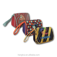 customed design makeup wristlet Bags