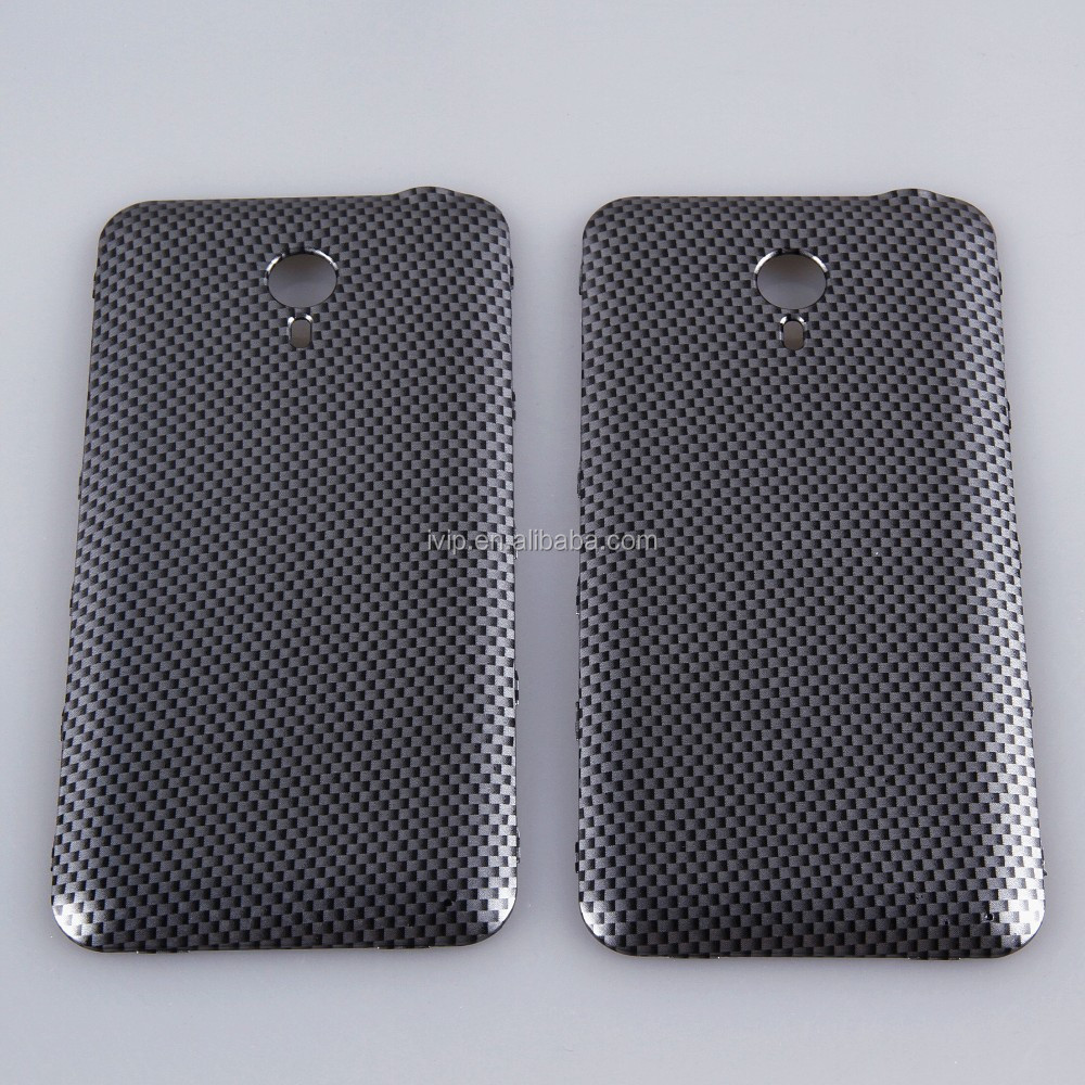 Carbon fiber film pattern water transfer printing mobile phone case