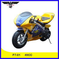 49CC New 2 Stroke Mini Kids Pocket Bike for Sale (P7-01)