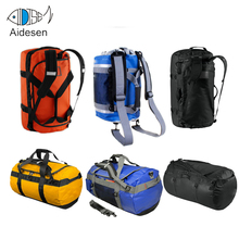 Travel Camping Hiking Colorful 500D pvc tarpaulin Foldable Custom Military Waterproof Travel Bag Duffle Bag