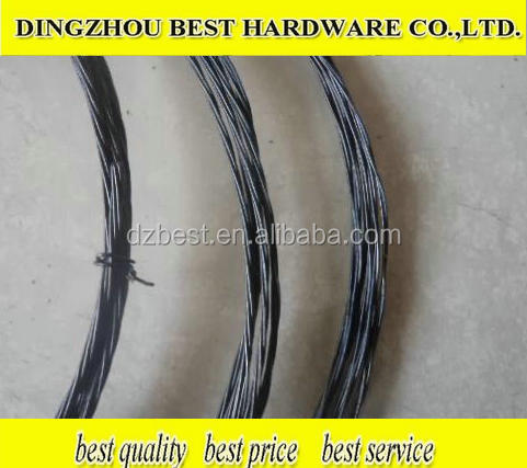Factory quality 0.7mm-4mm Galvanized Iron Wire Binding Wire price meter/Double Twisted Black Annealed quality Binding Wire