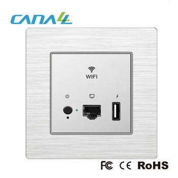 POE/100V~220V AC dual power supply hotel wifi range extender/wireless access point