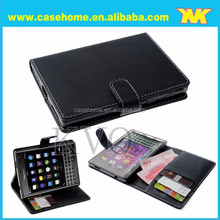 High Quality for BlackBerry Q5 case, for Blackberry Q10 case, For Blackberry Z10 Leather Case with clip holder